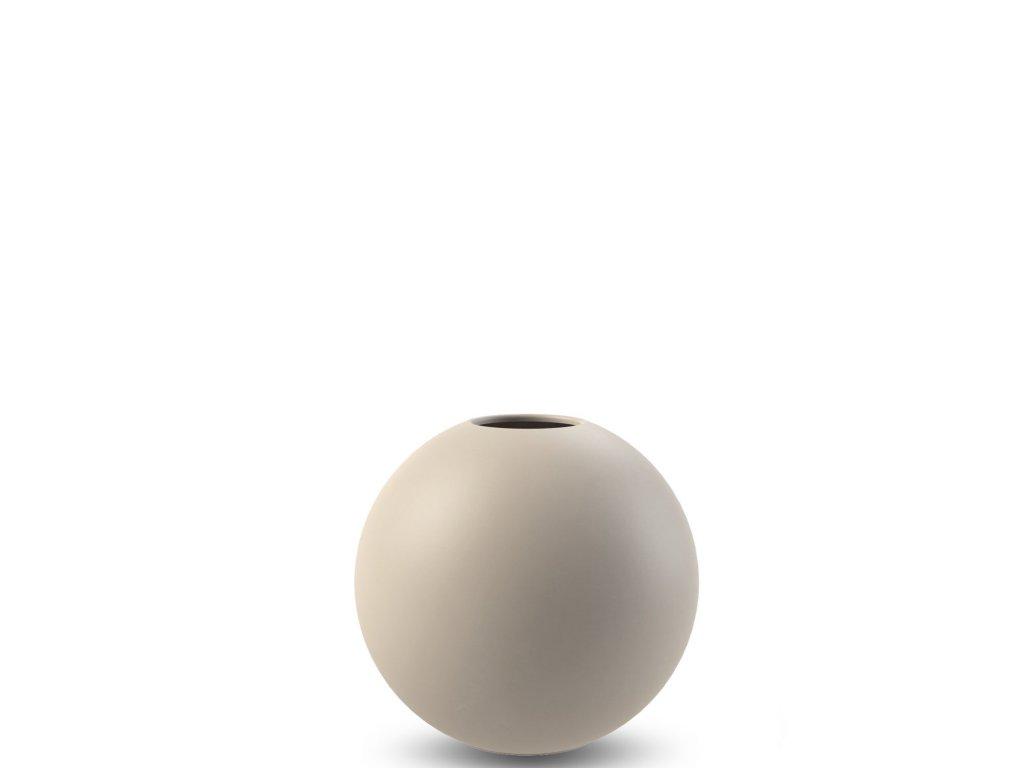 Váza Ball Sand - 8 cm