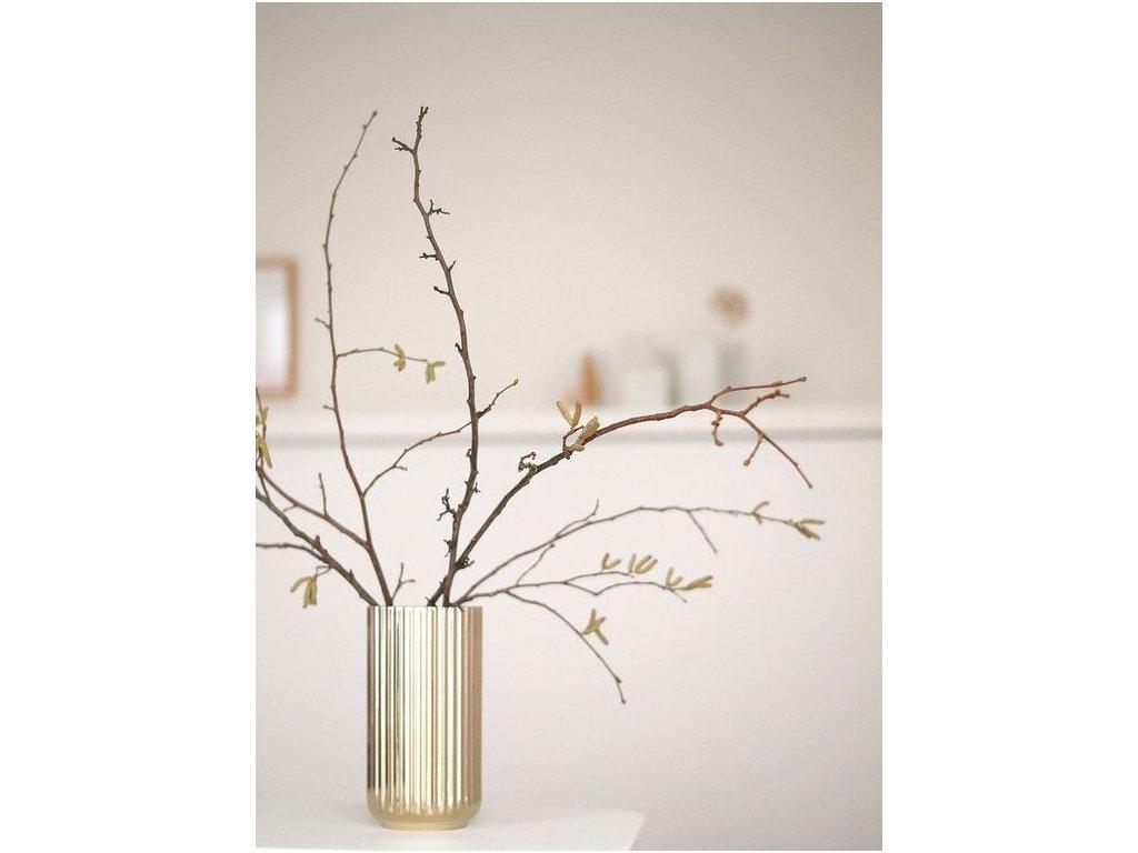 Váza Lyngby Gold - 20 cm