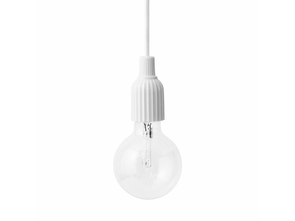 Závěsná lampa Lyngby White