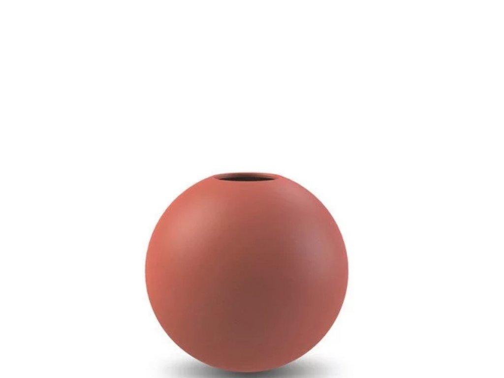 Váza Ball Rust - 10 cm