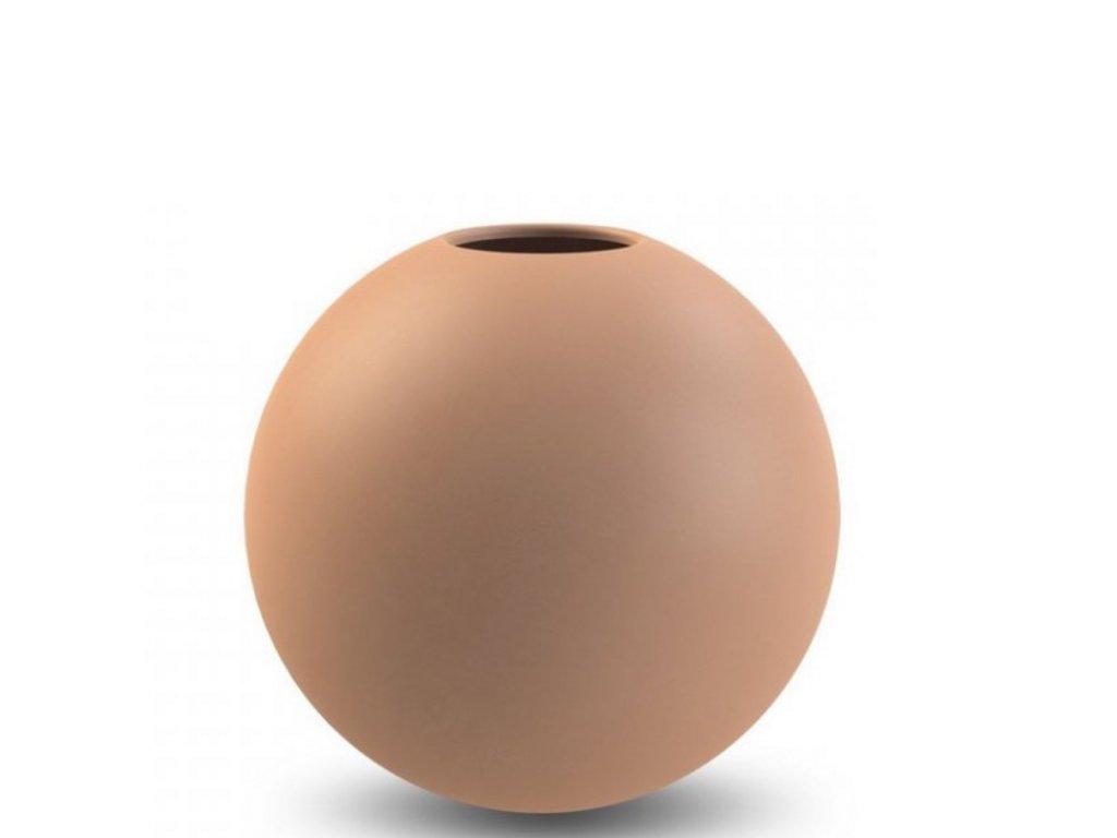 Váza Ball Cafe au Lait - 20 cm