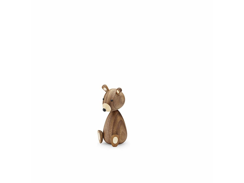 Dřevěný medvídek Baby Bear  - 11 cm