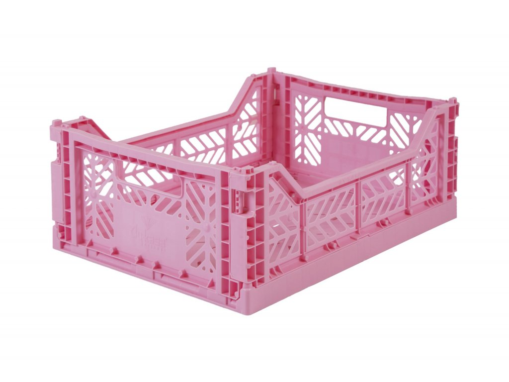 Úložný box Midi - Baby Pink