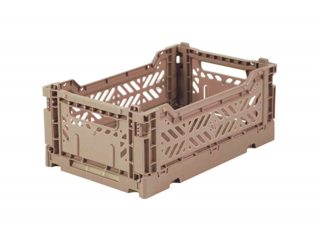 Úložný box Mini - Warm Taupe