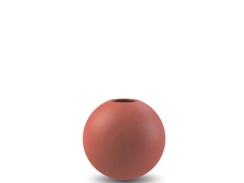 Váza Ball Rust - 8 cm