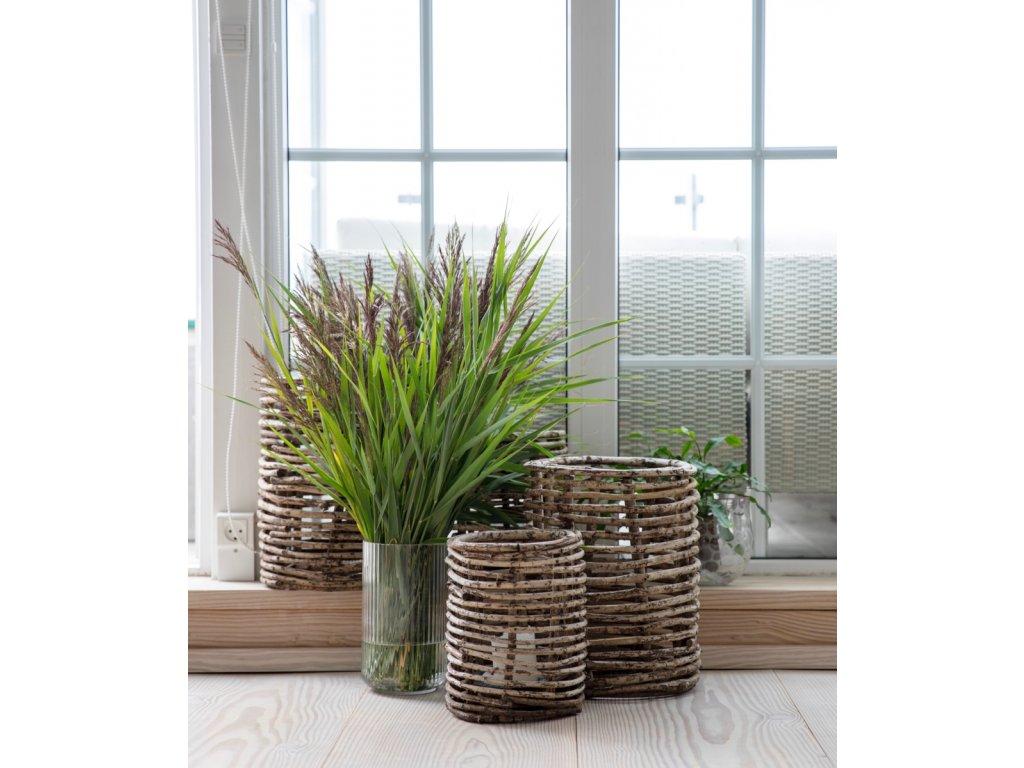 Váza Lyngby Clear - 38 cm