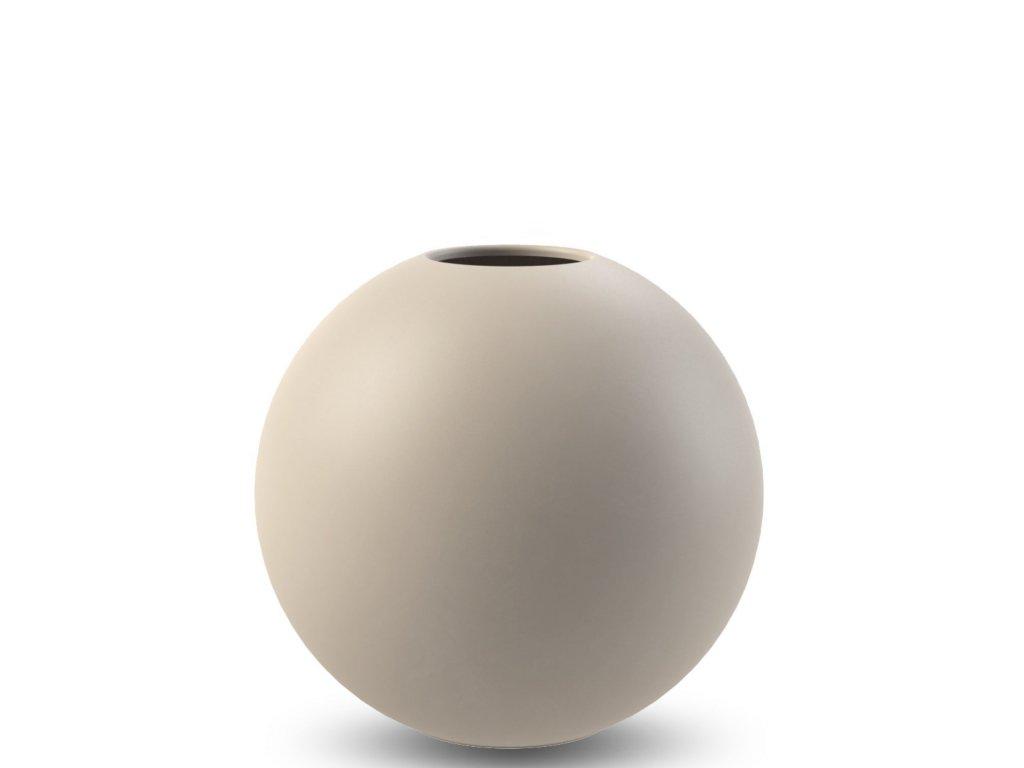 Váza Ball Sand - 20 cm