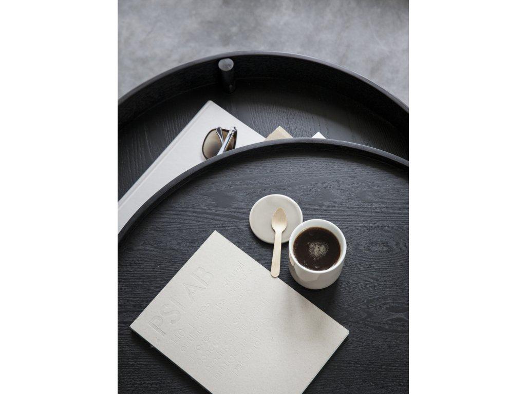 Stolek Turning Table - Black Ash