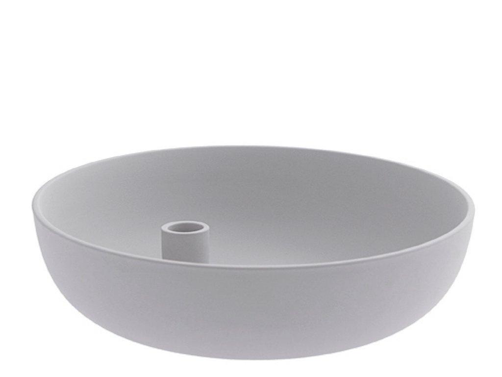 Keramický svícen Lidatorp XL - Light Grey