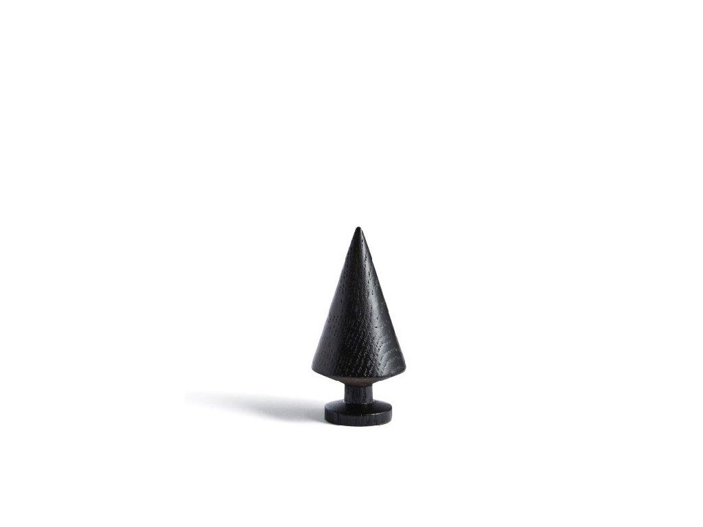 Dřevěný stromeček Small - Solid Black
