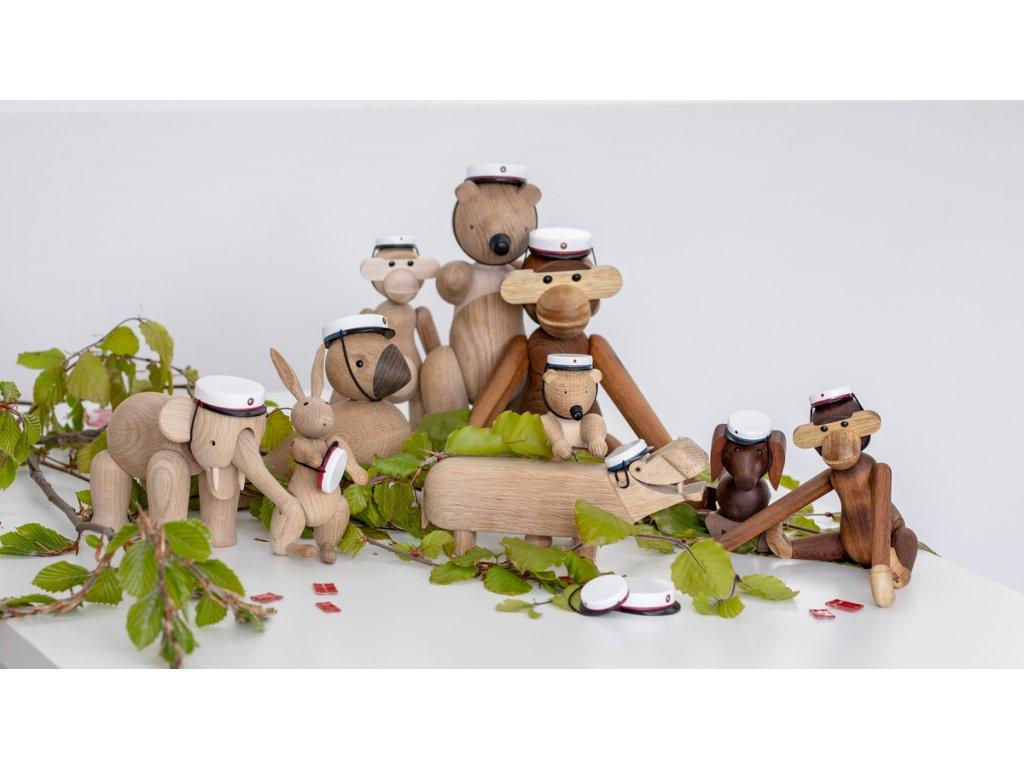 Dřevěný hrošík Kay Bojesen