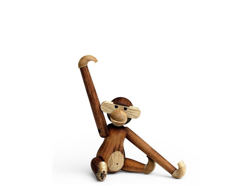 Opička Kay Bojesen Teak/Limba - Mini