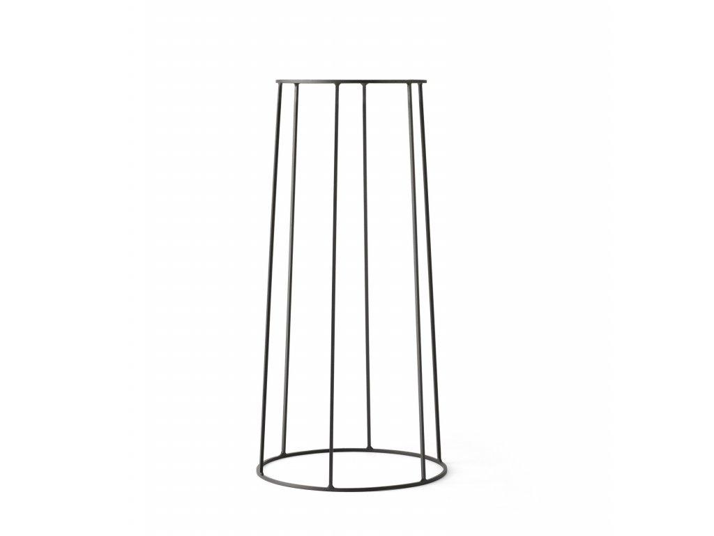 Podstavec Wire Base Black - 60 cm