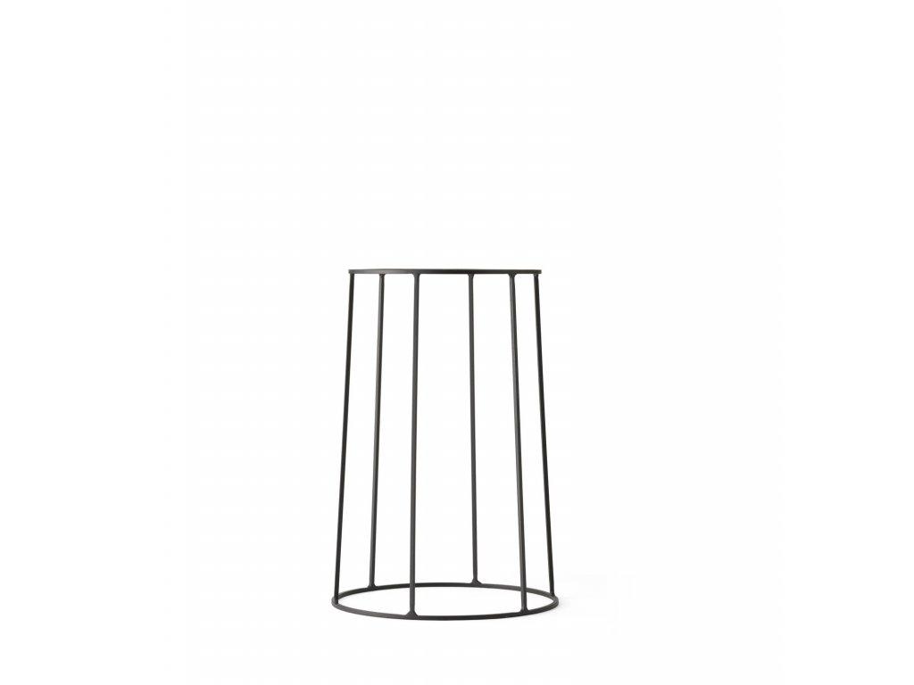 Podstavec Wire Base Black - 40 cm