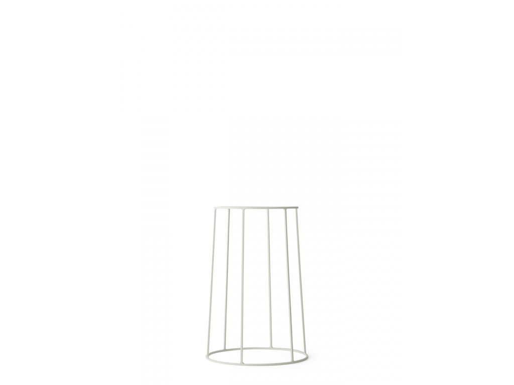 Podstavec Wire Base White - 40 cm