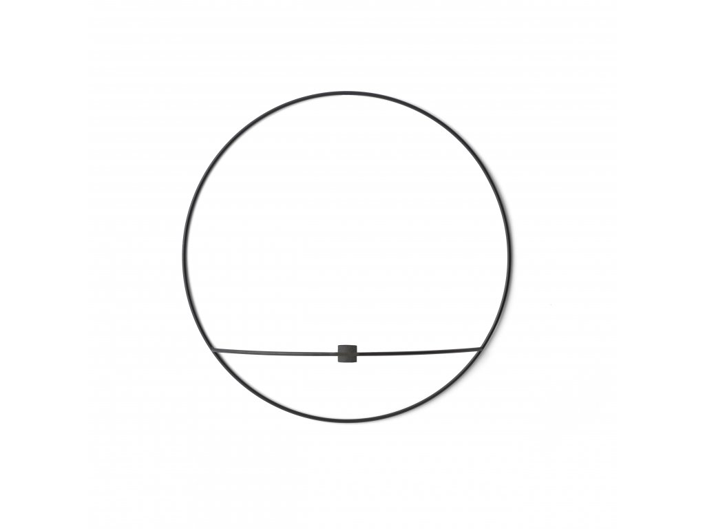 Svícen POV Circle Black - L