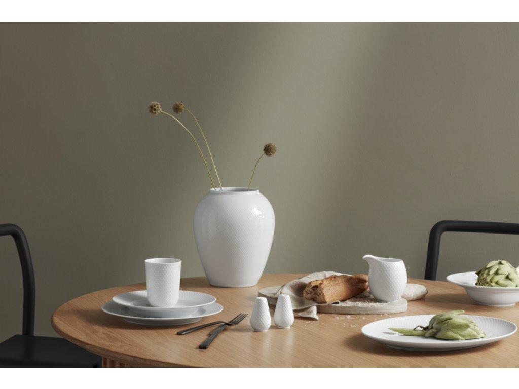 Porcelánový hrnek Rhombe White  - 330ml