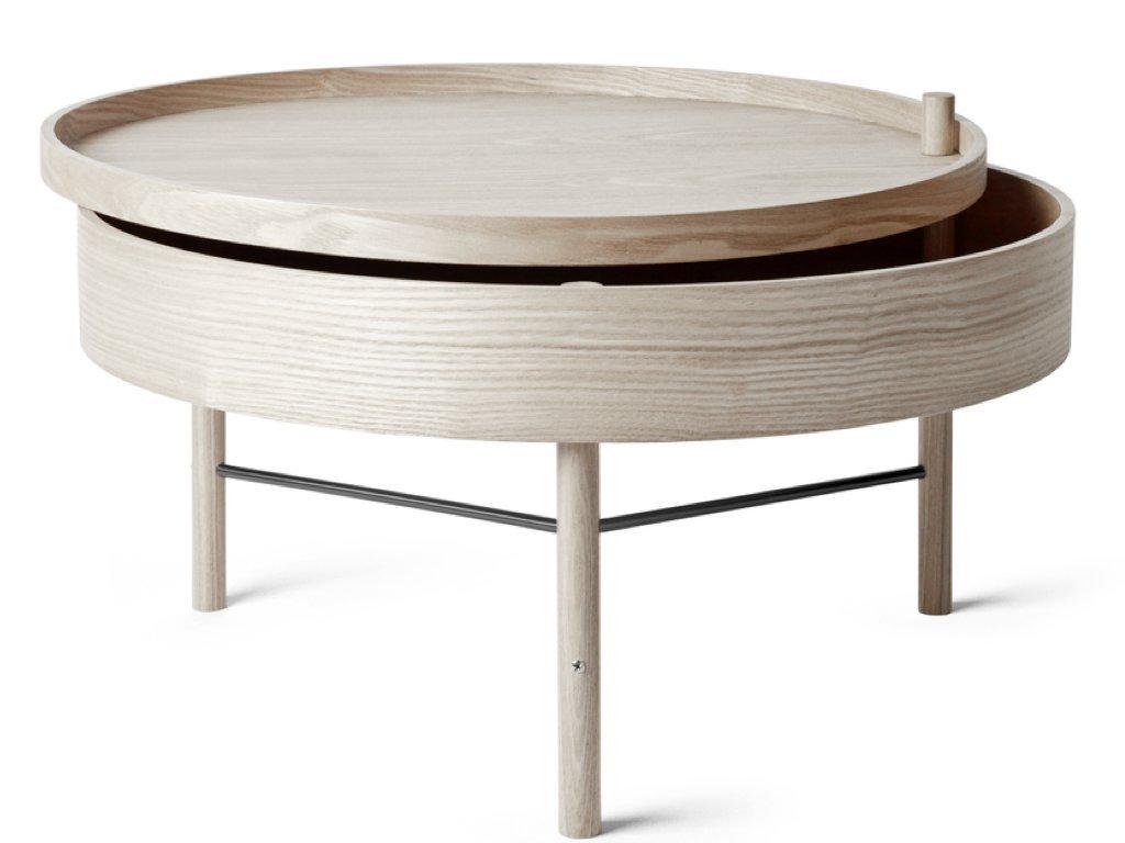 Stolek Turning Table - White Oak