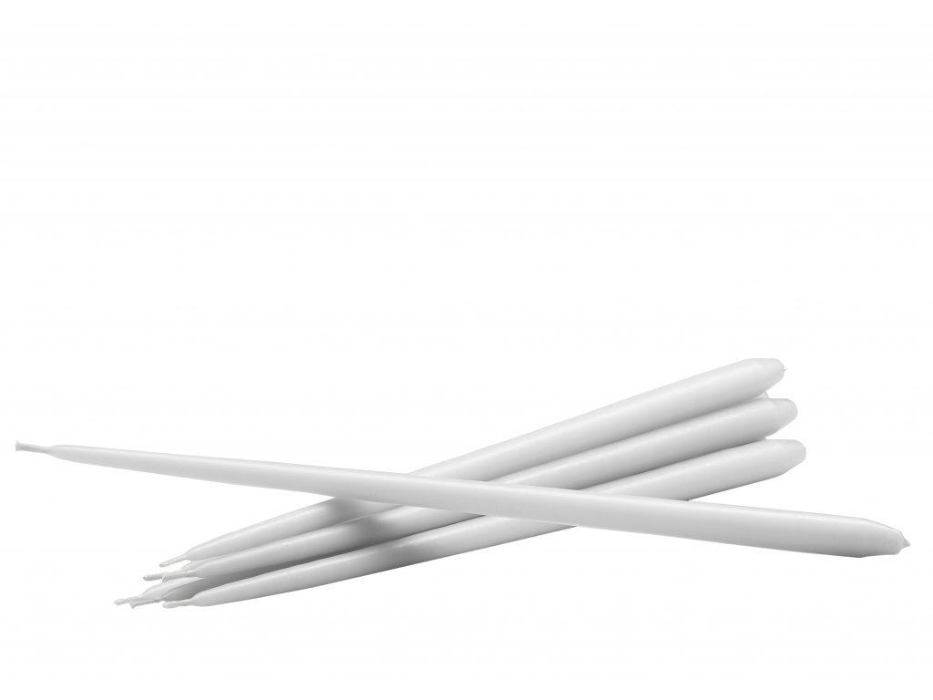 packshot white candles