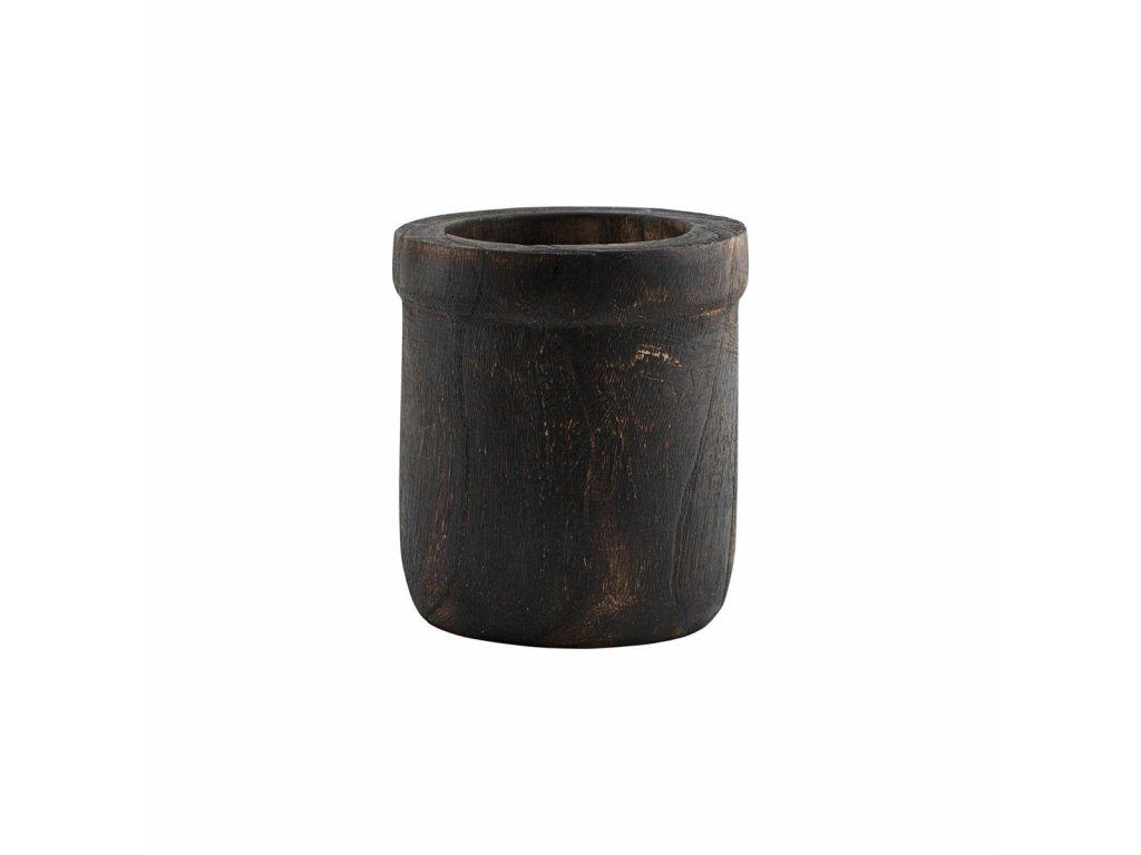 Dřevěná dóza Anand - 16 cm