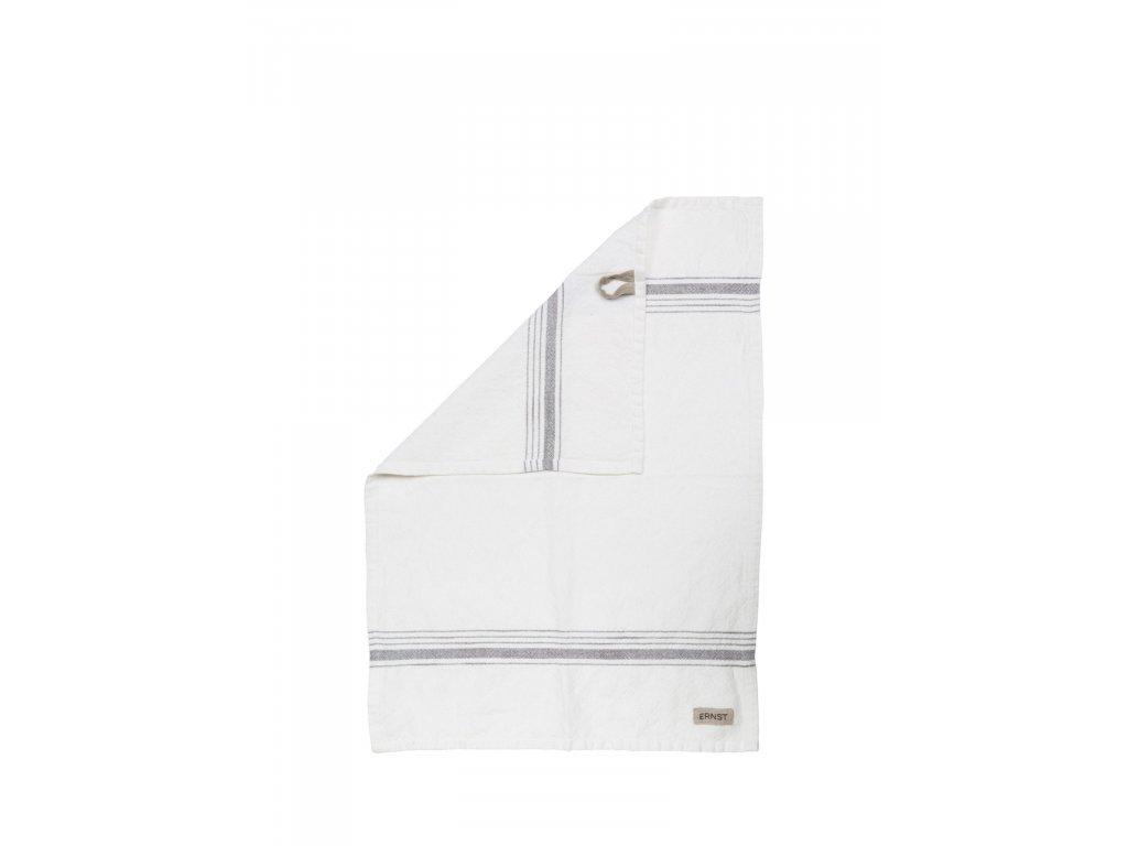 Bavlněná utěrka ERNST - White