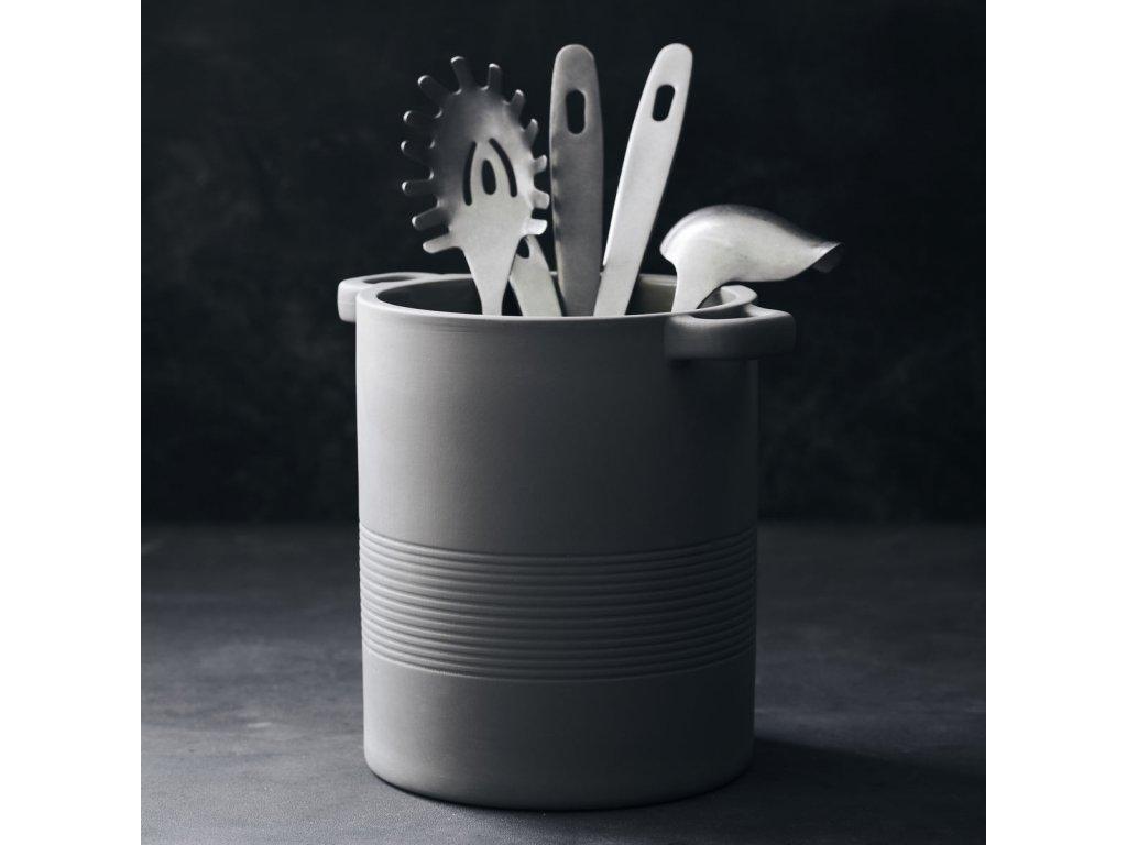 Porcelánová dóza na kuchyňské náčiní Earth