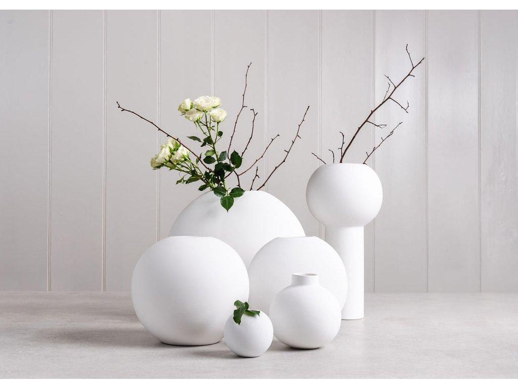 Váza Collar White - 12 cm