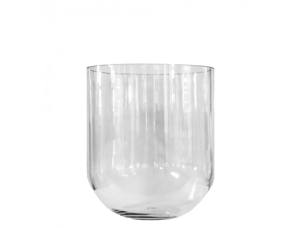 Skleněná váza Simple - M