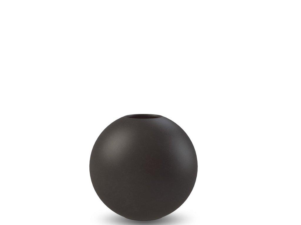 Váza Ball Black - 8 cm