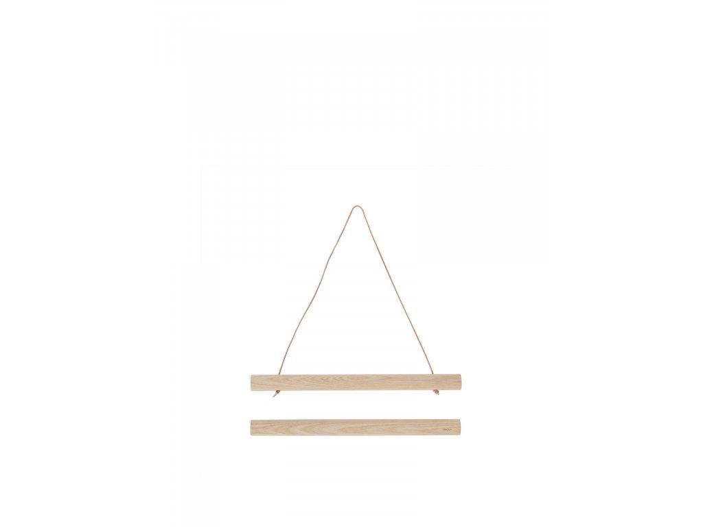 Magnetický rám Wooden - 30 x 40 cm