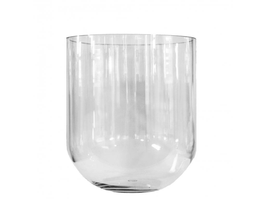 Skleněná váza Simple - L