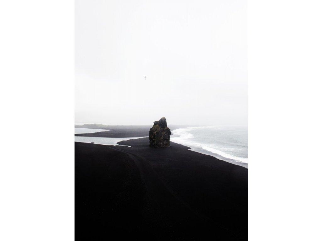 Plakát Black Beach