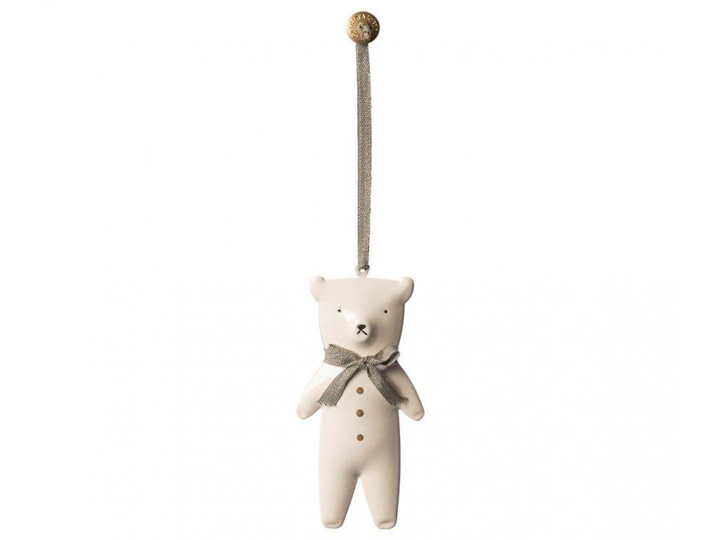 Plechová ozdoba Maileg - Teddy