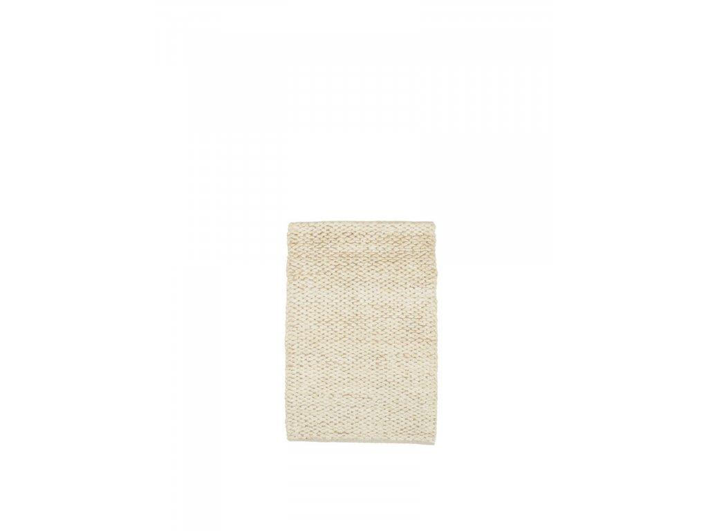 Jutový koberec Sigrid Snow - 90x60cm