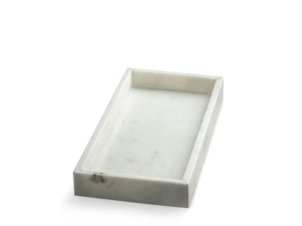Mramorový podnos Round - White