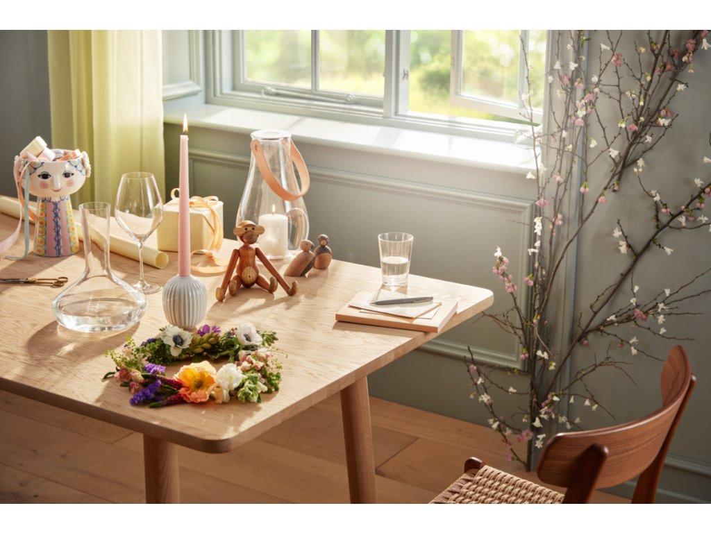 Svícen Hammershøi White - 10 cm