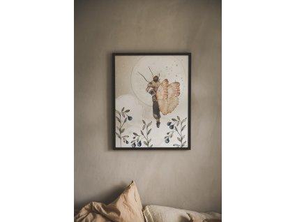 Plakát Miss Emily 40x50cm