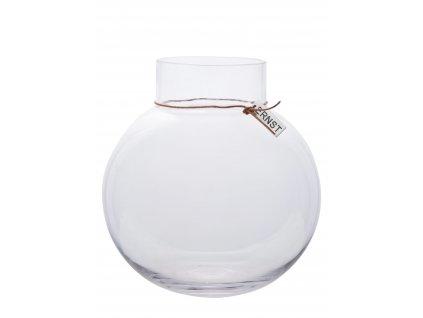 Skleněná váza Ernst 30 cm - 2. jakost