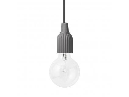 Závěsná lampa Lyngby Dark Grey - 2. jakost