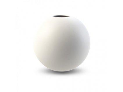 Váza Ball White 20 cm - 2. jakost