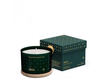 Vonná svíčka SKOG 90 g - vánoční limitovaná edice