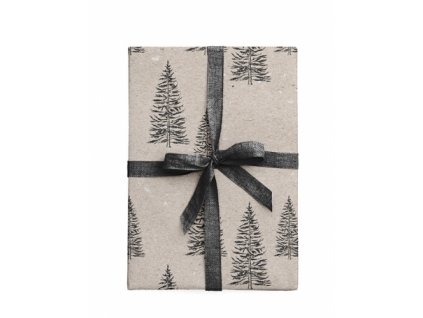 wrapping paper fall garden 3