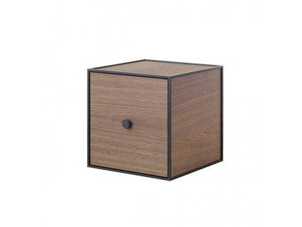 Polička Frame 28 - Smoked Oak