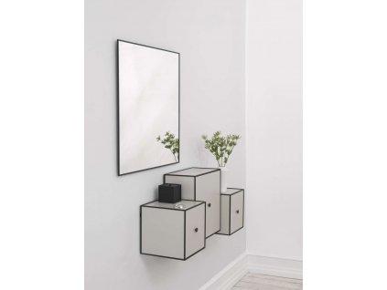Úložný box Frame Black - 10 cm