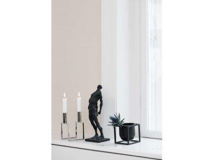 Květináč Kubus Black - 10 cm