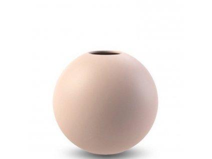 Váza Ball Dusty Pink  - 20 cm