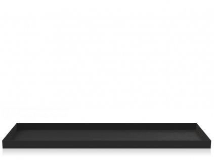 Podnos Oblong Black - 50 cm