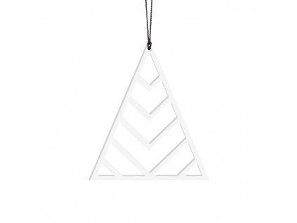 Ozdoba - bílý stromeček Edges 2ks