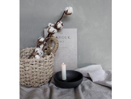 Keramický svícen Lidatorp M - Dark Grey