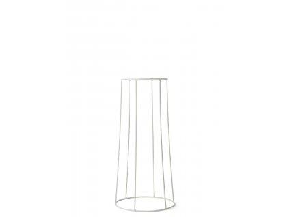 Podstavec Wire Base White - 60 cm